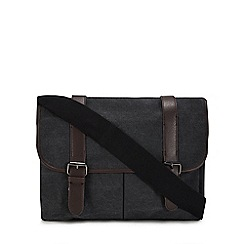 Mantaray - Grey canvas satchel bag 0124132ac