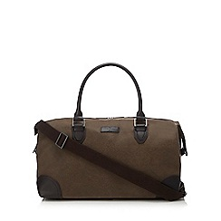 J by Jasper Conran - Brown textured holdall bag 20ad48358c
