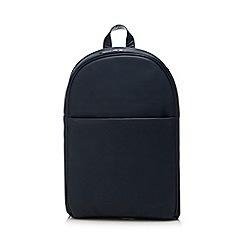 J by Jasper Conran - Navy pebbled backpack