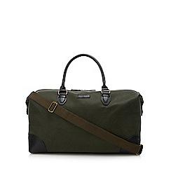 J by Jasper Conran - Olive textured holdall bag