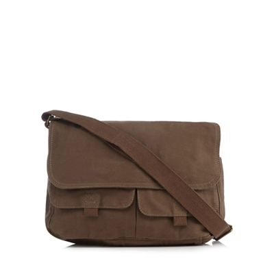 Mantaray - Khaki twill despatch bag