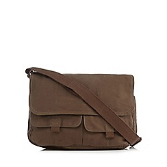 Mantaray - Khaki twill despatch bag