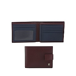 Hammond & Co. by Patrick Grant - Wine red leather billfold wallet