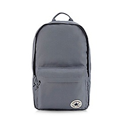 Converse - Grey logo detail backpack