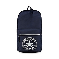 Converse - Navy packable backpack