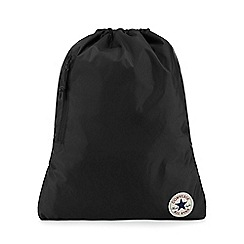Converse - Black cinch sack