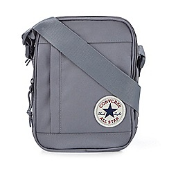 4eafaf4f898c Converse - Grey logo applique cross body bag