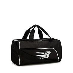 New Balance - Black Logo Print Duffle Bag