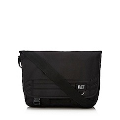 Caterpillar - Black canvas 'Aron' messenger bag