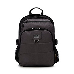 Caterpillar - Grey canvas 'Millenium' backpack