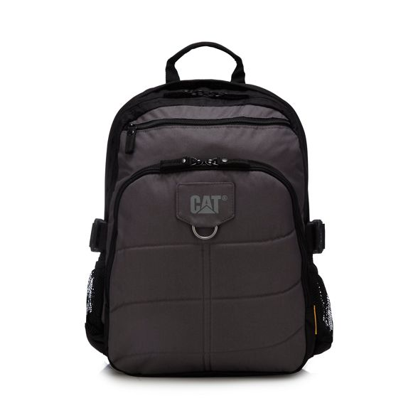 canvas backpack Grey 'Millenium' Caterpillar Caterpillar Grey backpack 'Millenium' canvas SPOxqgxw