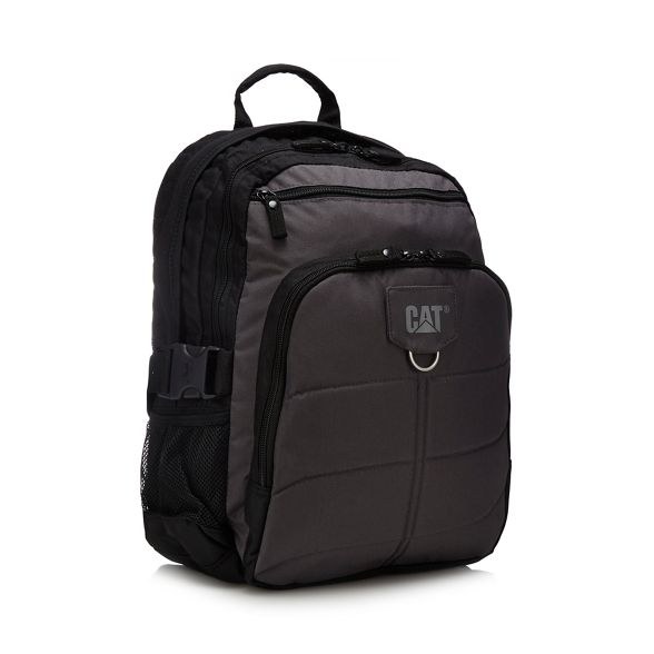 Caterpillar canvas 'Millenium' backpack Caterpillar Grey Grey canvas zx6wfE8