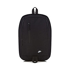 Nike - Black 'All Access' sole backpack