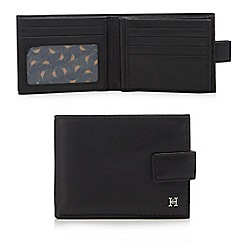 Hammond & Co. by Patrick Grant - Black leather billfold wallet