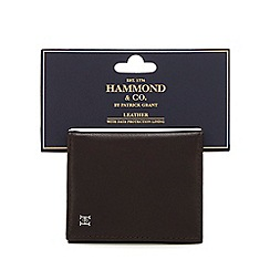 739913003ab Hammond   Co. by Patrick Grant - Brown leather credit card holder