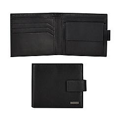 J by Jasper Conran - Black leather wallet
