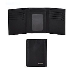 J by Jasper Conran - Black leather wallet