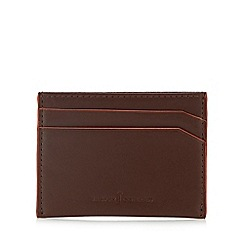 J by Jasper Conran - Tan leather card holder