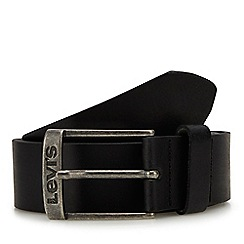 Levi's - Black Leather Belt