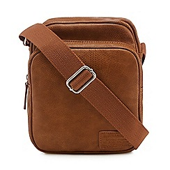 Red Herring - Tan cross body bag