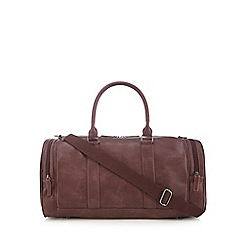 Red Herring - Wine red large holdall bag
