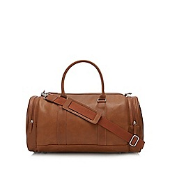 Red Herring - Tan large holdall bag