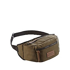 Red Herring - Khaki nylon bum bag