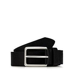 Ben Sherman - Black leather belt