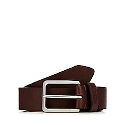 Ben Sherman - Brown leather belt