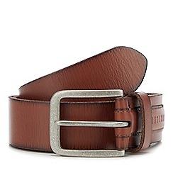 Mantaray - Tan Leather Belt