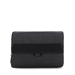 J by Jasper Conran - Dark grey hanging wash bag
