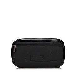 J by Jasper Conran - Black grained wash bag