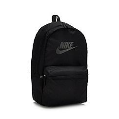 Nike - Black Logo 'Heritage' Backpack