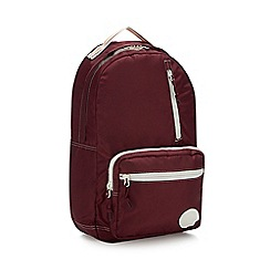 Converse - Dark Red 'Courtside' Backpack