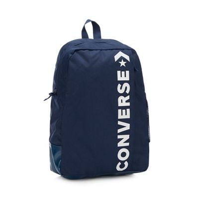 f065322fd81c Converse Navy  Speed 2  Logo Backpack