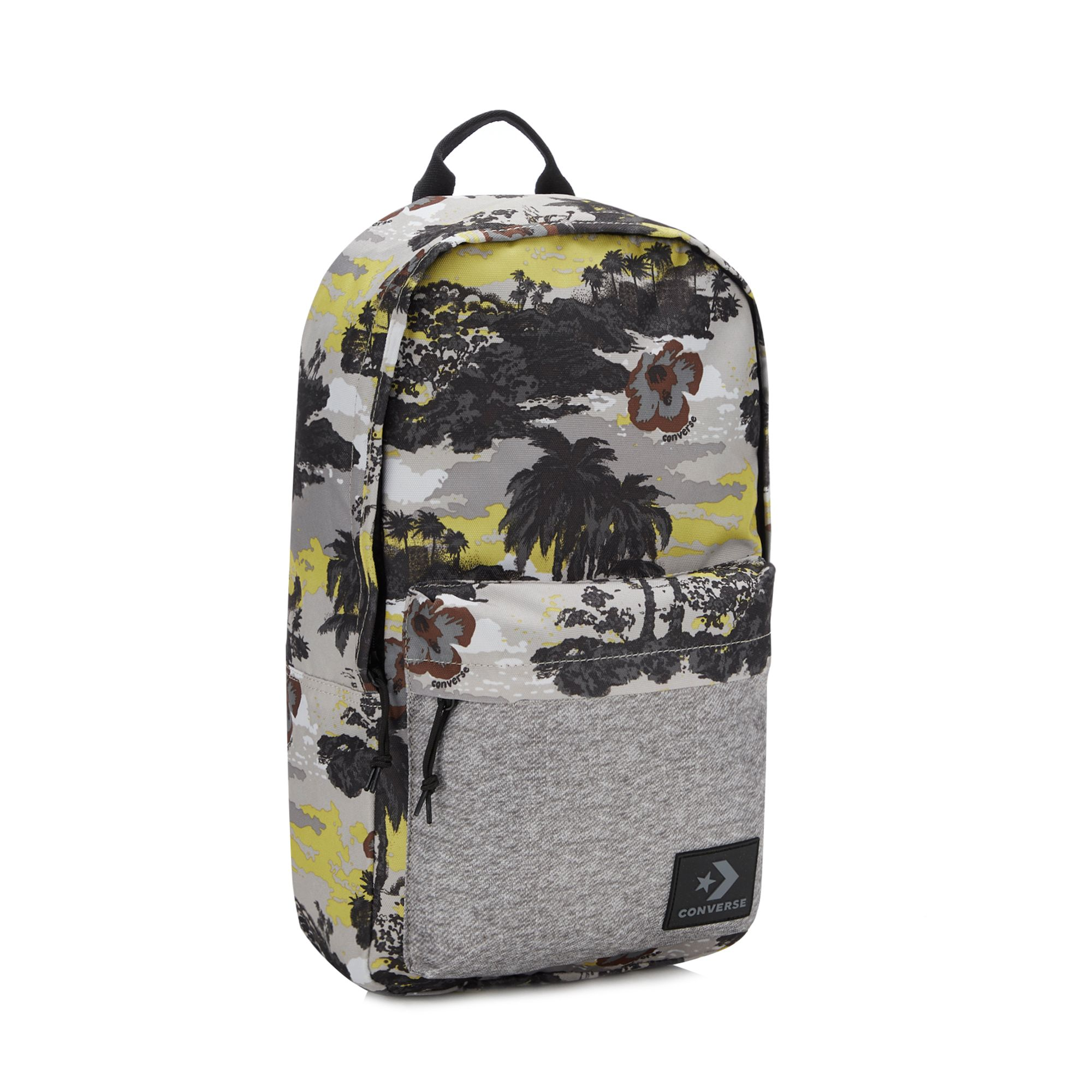 ec2a9effa0c9 Details about Converse Men Dark Grey Tropical Backpack One Size