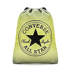 Converse - Yellow 'All Star' Cinch Sack Bag