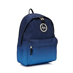 Hype - Navy Faded Embroidered Logo Backpack 012d89b12f6d0