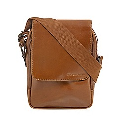 RJR.John Rocha - Designer tan leather cross body bag