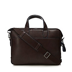 J by Jasper Conran - Brown tipped laptop bag