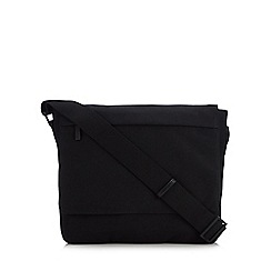 J by Jasper Conran - Black canvas utility bag 1c78f43078