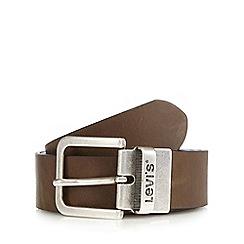 Levi's - Brown leather reversible belt