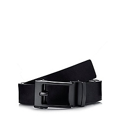 Red Herring - Black leather exact fit belt