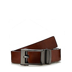 Red Herring - Tan leather exact fit belt