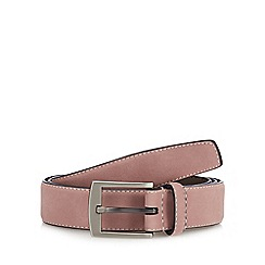Red Herring - Pink Suede Belt