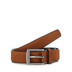 Red Herring - Tan Suede Belt