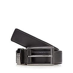 Jeff Banks - Black crown belt