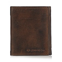 RJR.John Rocha - Brown leather zip wallet
