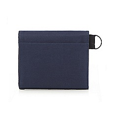 Mantaray - Navy textured ripstop wallet