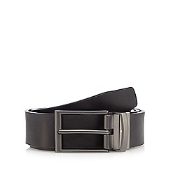 Jeff Banks - Brown and black reversible leather belt